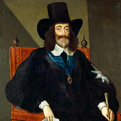Follow in the steps of Charles I