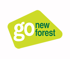 Hurst Castle Go New Forest Logo